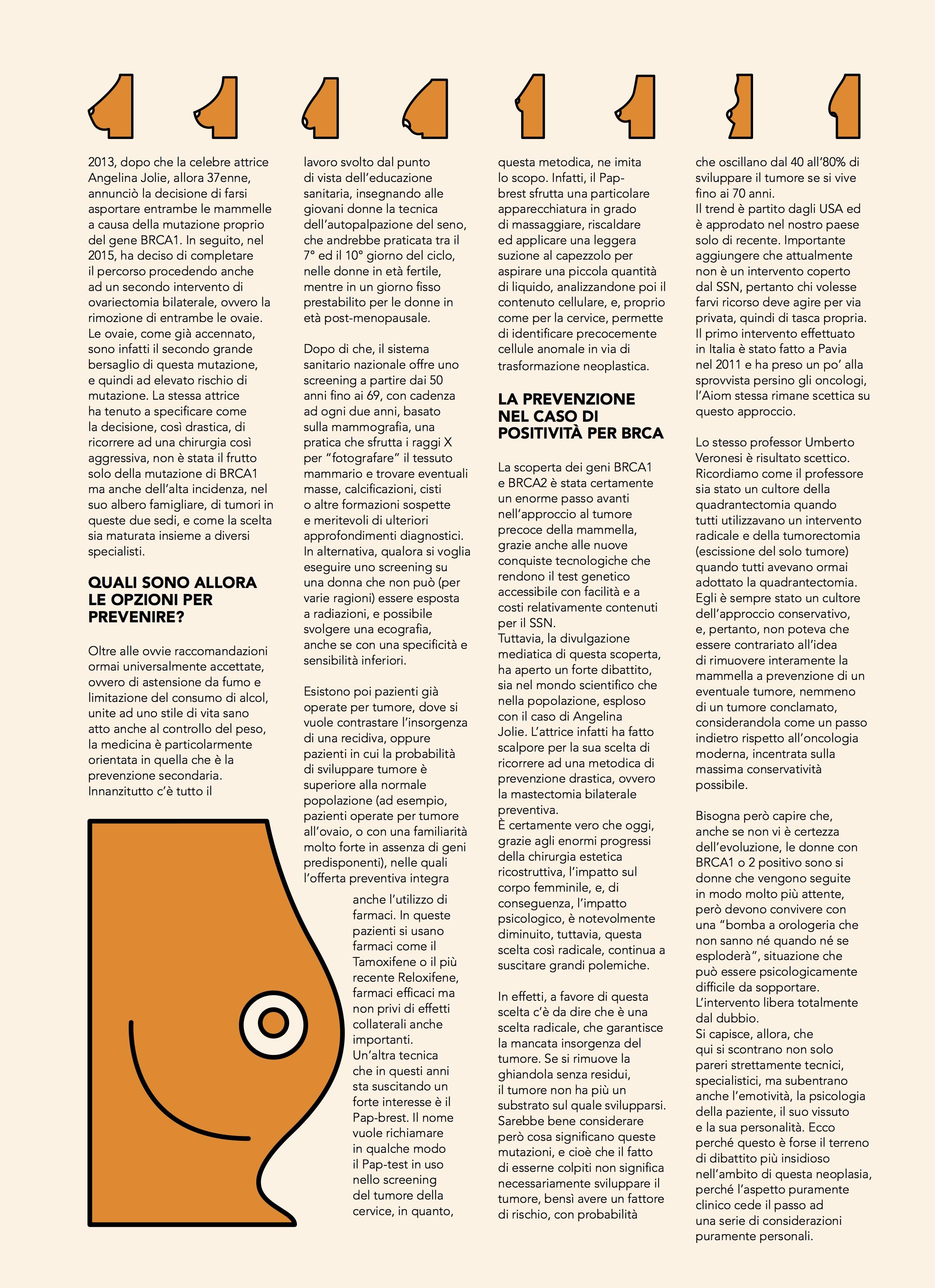medical editorial magazine : Federica Oronti